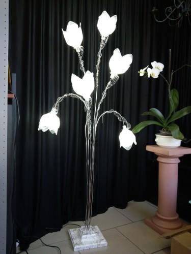 Lampadaire  6 tulipes