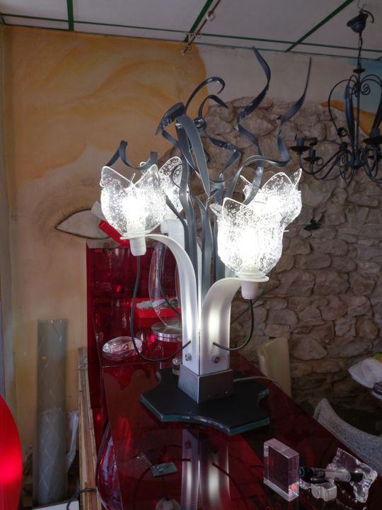 Jean Luc Masini - Lampe à facettes