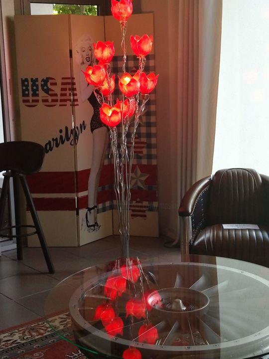Jean Luc Masini - LAMPADAIRE ROUGE